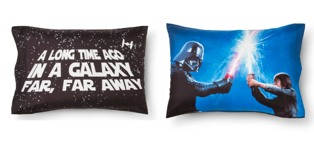 these are the star wars pillow cases
