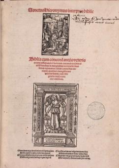 Biblia cum concordantiis. 1515. Cote A.3.38. Médiathèque du Grand Troyes. Photo P. Jacquinot