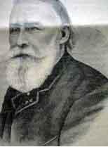 Portrait de l'architecte César Daly. Source Wikipedia