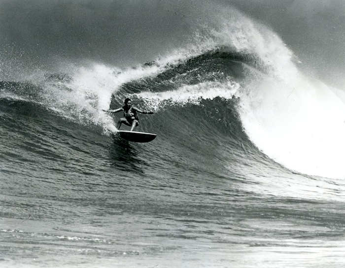 Margo Oberg. First Proffessional Female Surfer. Born in 1953. Photo by Encyclopediaofsurfing.com