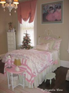 Visions of Sugarplums—Or My Daughter's Bedroom, Decked Out for Christmas