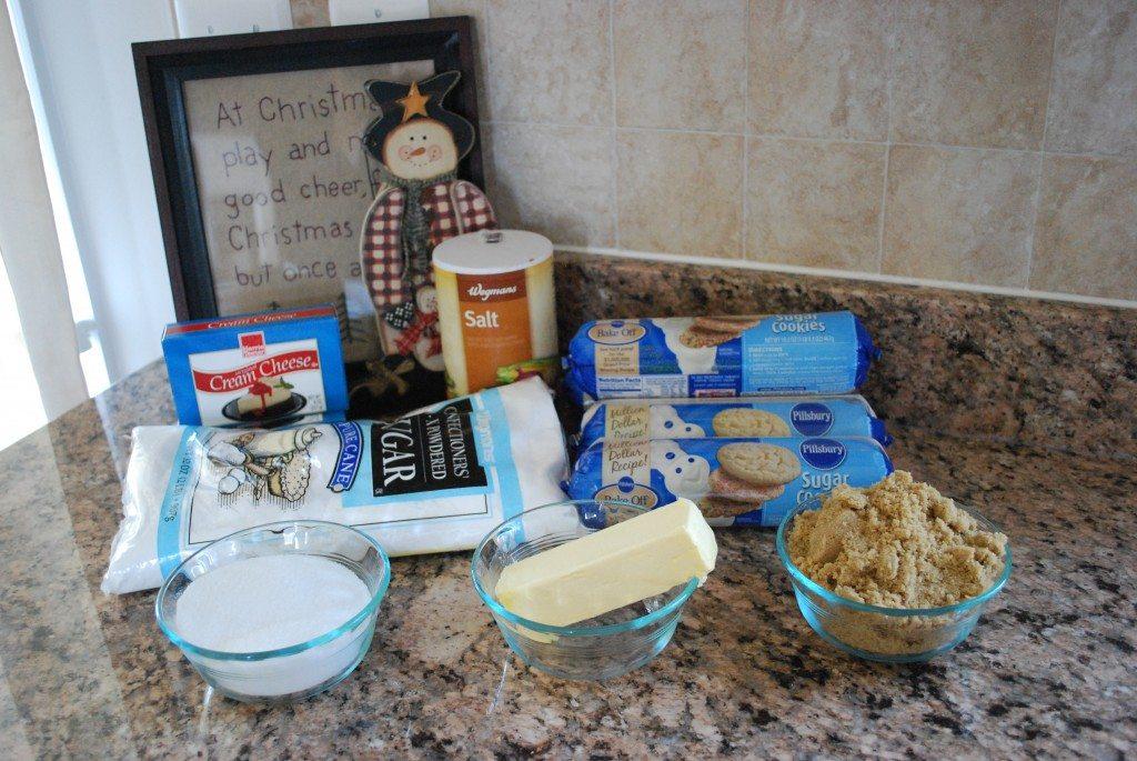 Ingrediants for Cinnamon Sugar Cookies
