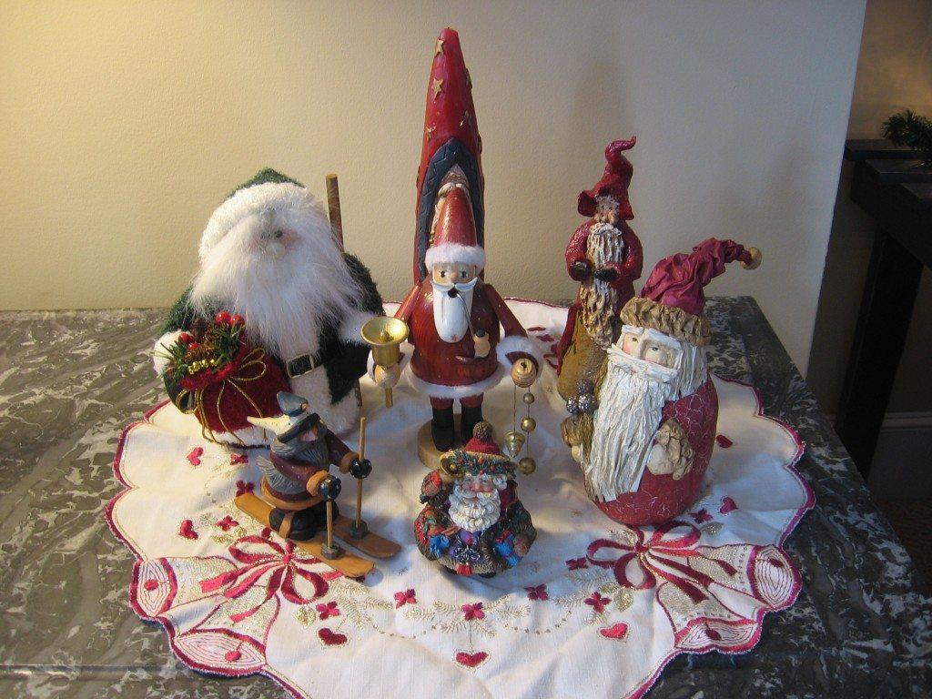 vintage European Santas