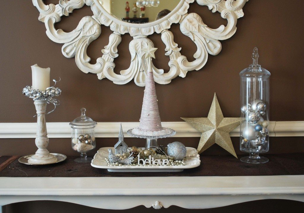 chocolate white silver Christmas