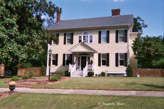 Christy's historic North Carolina house, colonial revival