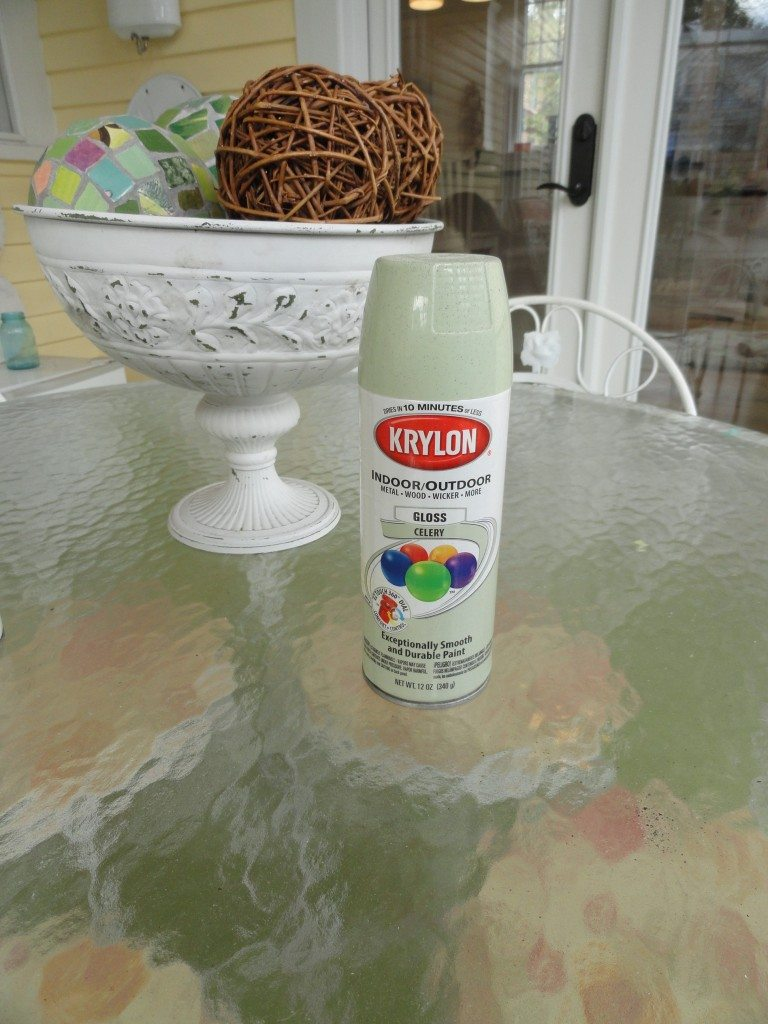 Krylon Celery spray paint