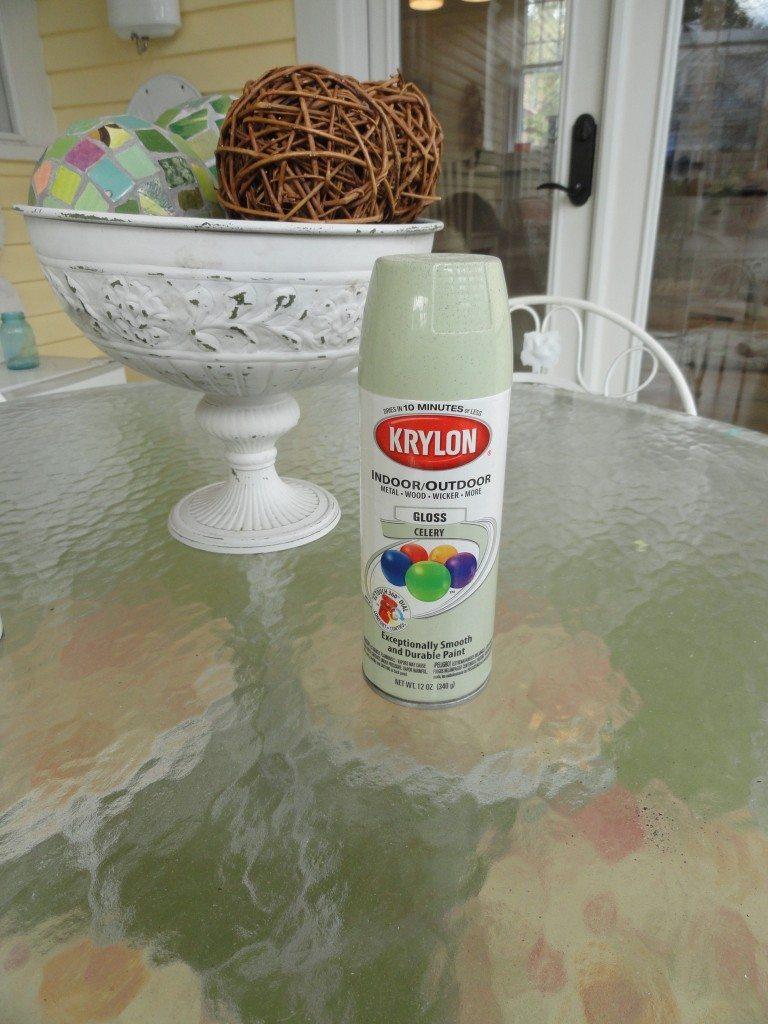 Krylon Celery spray paint