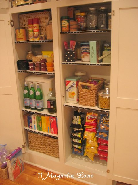 Pantry redo after