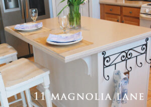 Builder Kitchen Island Makeover