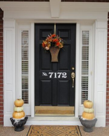 More Fall Front Porch Decor--Just in Time for Thanksgiving!
