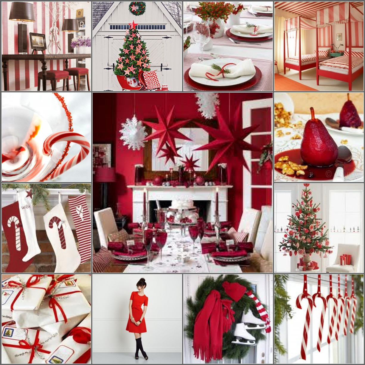Peppermint inspiration board