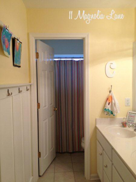 bathroom board and batten