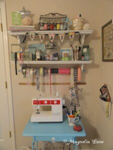 A Place to Create--My Teeny-Tiny Craft Area