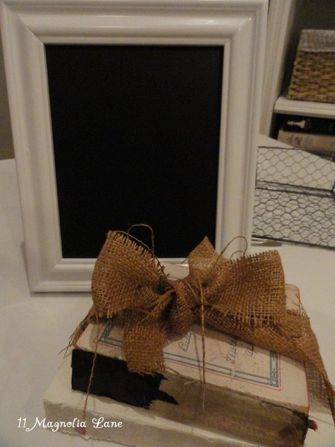 diy chalkboard from thrift store picture frame