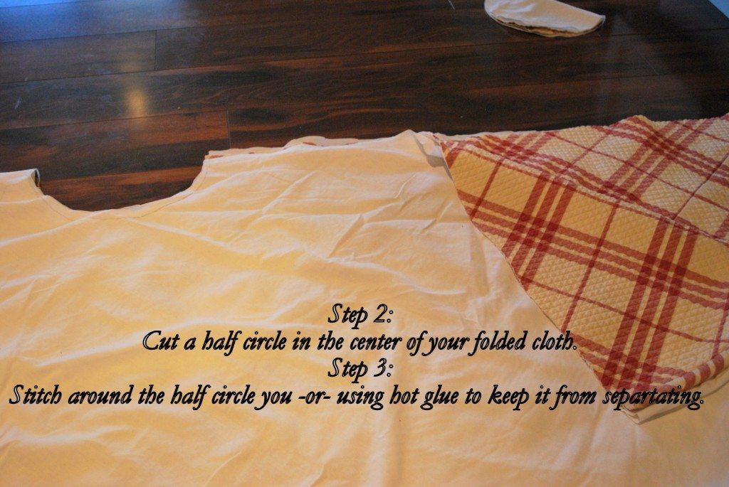 DIY Burlap Christmas Tree Skirt