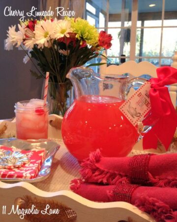 A Sweet Christmas Treat--Cherry Limeade Recipe