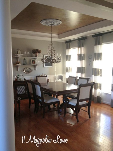 Dining room at 11 Magnolia Lane