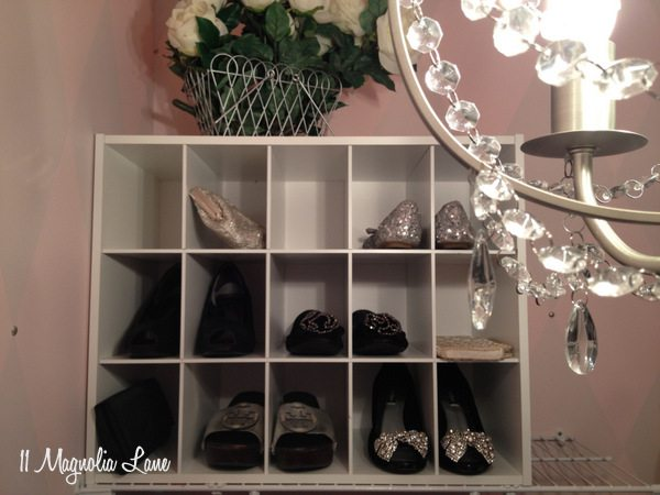 """Her"" closet at 11 Magnolia Lane"