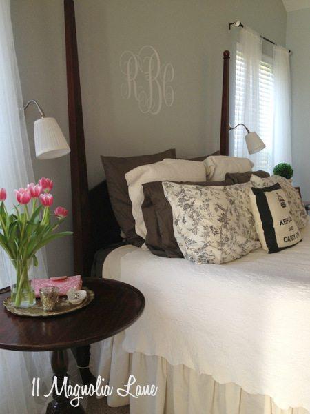 Master bedroom at 11 Magnolia Lane