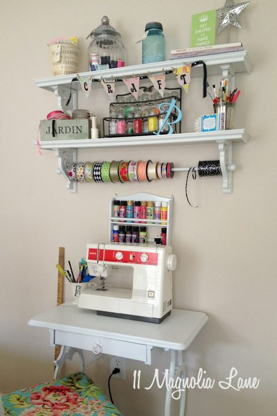 Small craft and sewing area at 11 Magnolia Lane