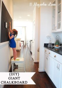 How to build a {DIY} Giant \ Huge \ Wall Chalkboard