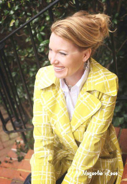 Christy Bright Yellow head Shot