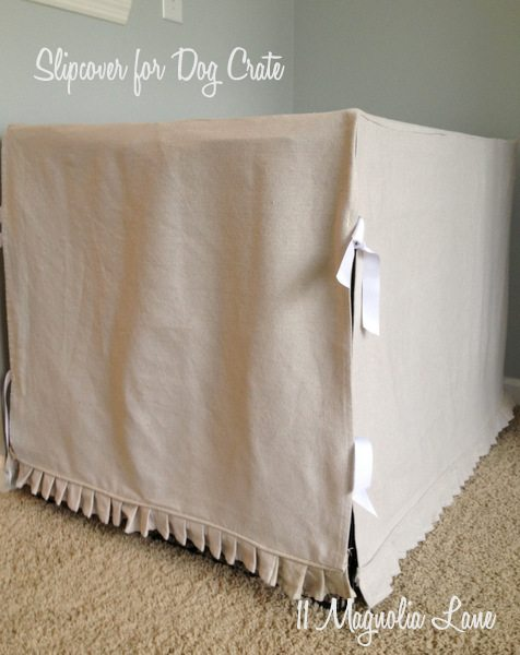 Sewing for Pets: Dog Crate Slip Cover