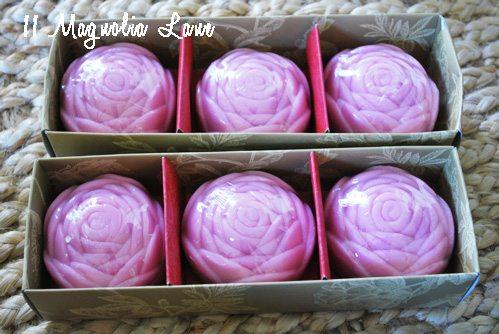 soaps in box