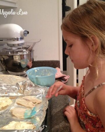 Kid-Friendly Recipe:  Broiled Tilapia Parmesan