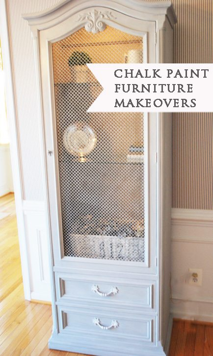 chalk paint makeovers
