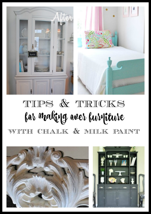 Tips And Tricks For Chalk Paint And Furniture Makeovers 11