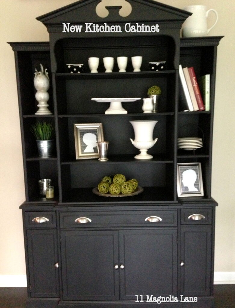 Close up of Cabinet