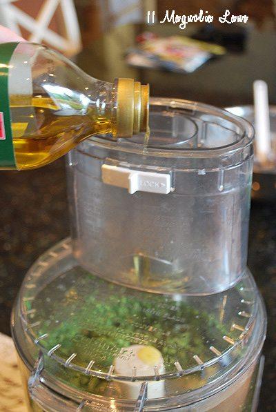 drizzle in oil