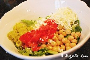 in bowl