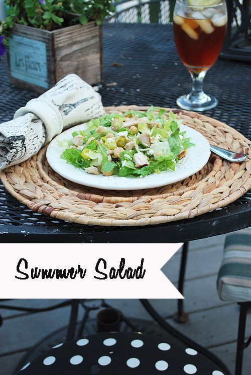 summer salad marked