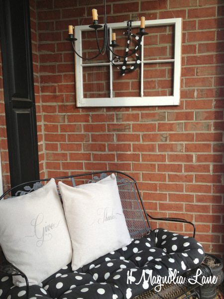 window front porch