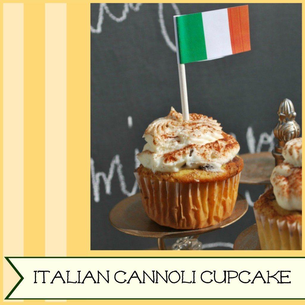 Italian Cannoli Cupcake