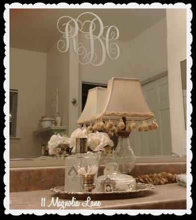 Bathroom-monogram