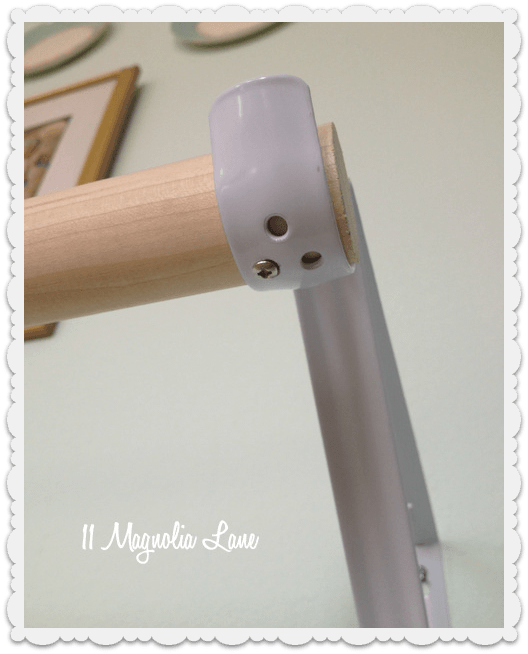 ballet barre bracket diy