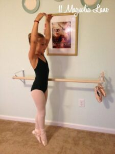 {Another!} DIY Ballet Barre For My Little Ballerina