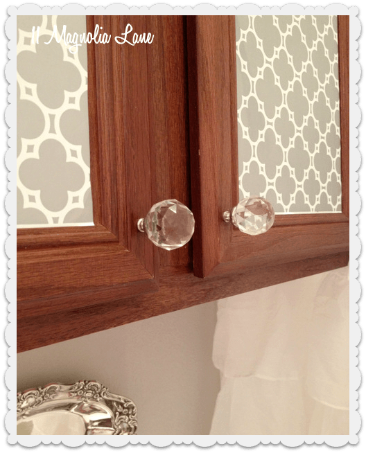 Crystal cabinet knobs bathroom