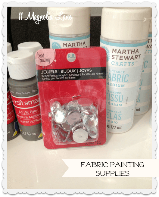 painted fabric chair supplies