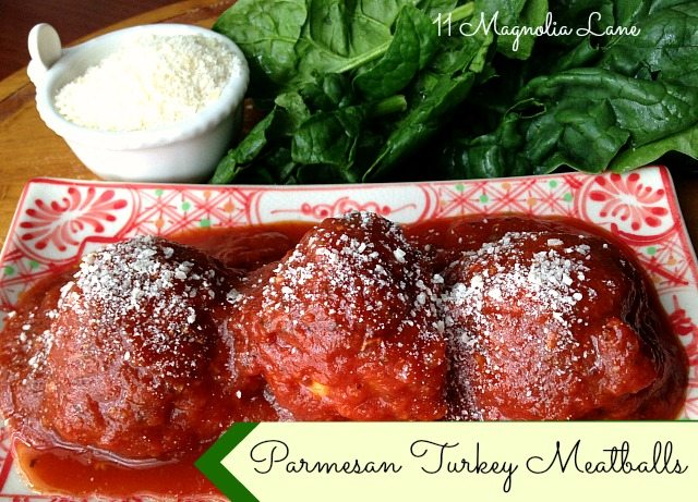 Parmesan-Turkey-Meatballs