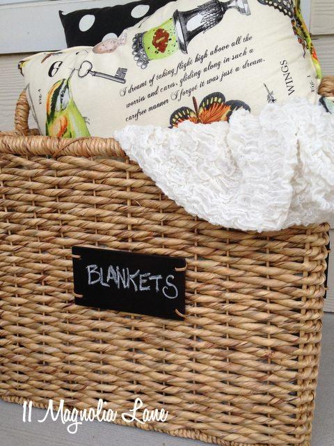 blankets-basket