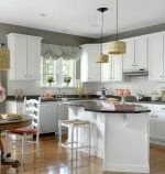 kitchen white makeover