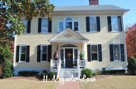 historic colonial revival house 11 Magnolia Lane