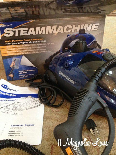 HomeRight Steam Machine