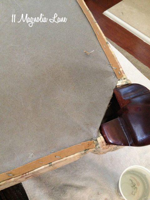 cardboard strips reupholstery