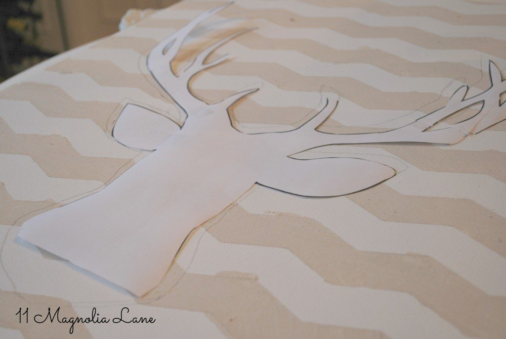 paper-deer-on-canvas