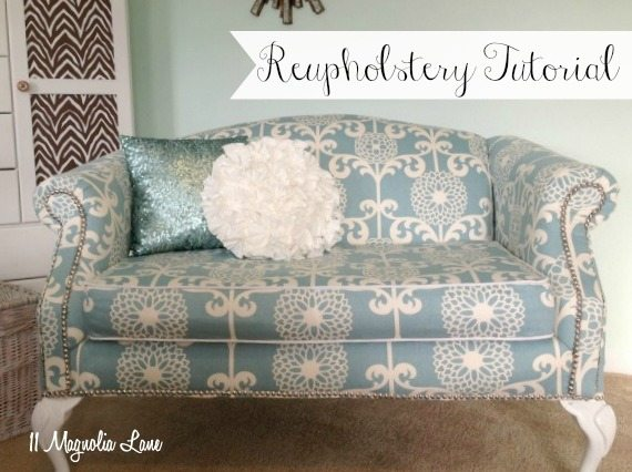 upholstery tutorial how to